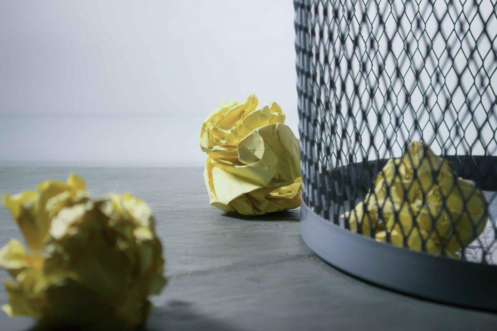 Failure - feeling like trash