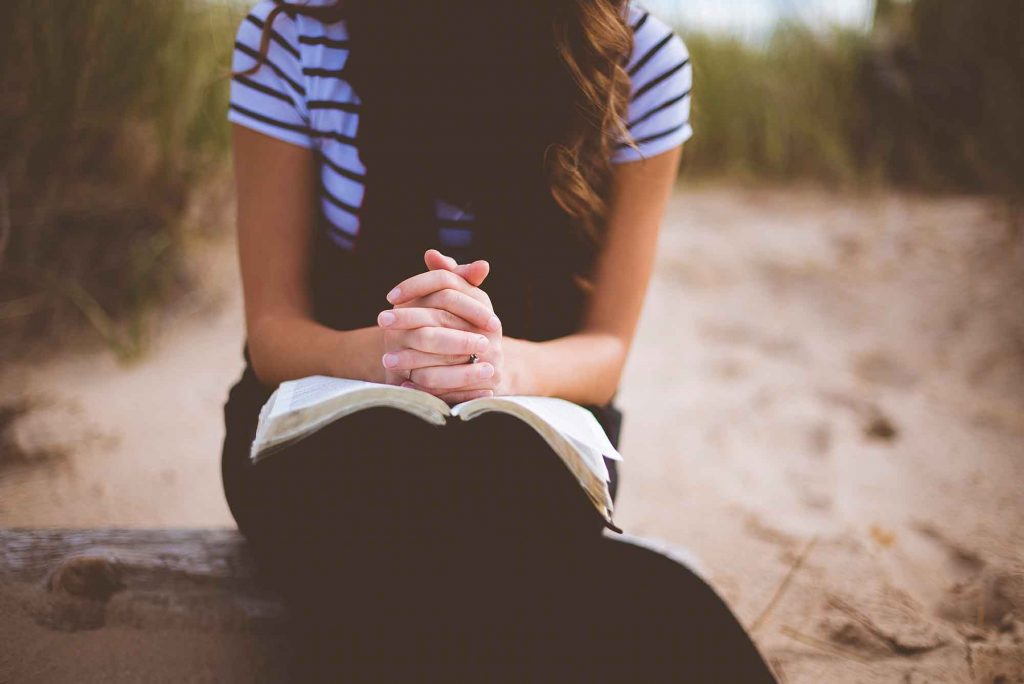 she is a woman of prayer