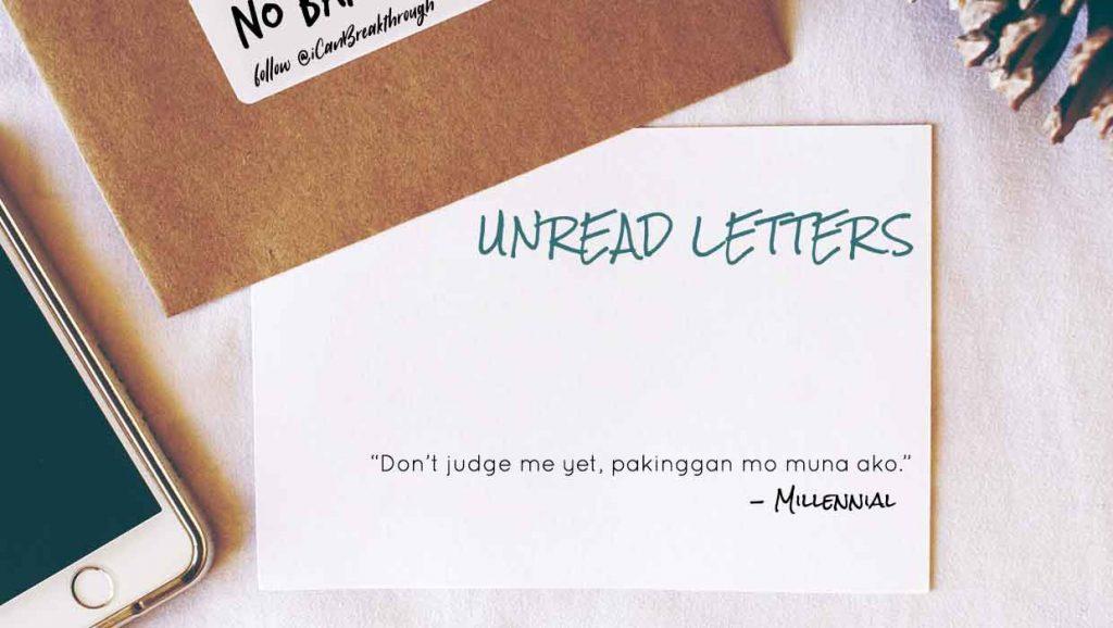 Breakthrough_Unread Letter-Millennial