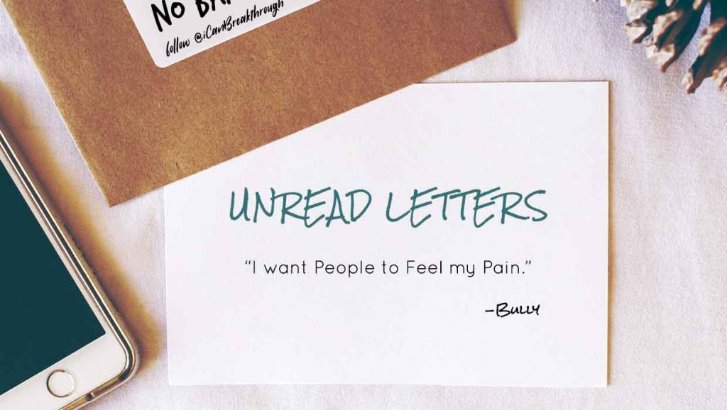 Unread Letter from the Bully