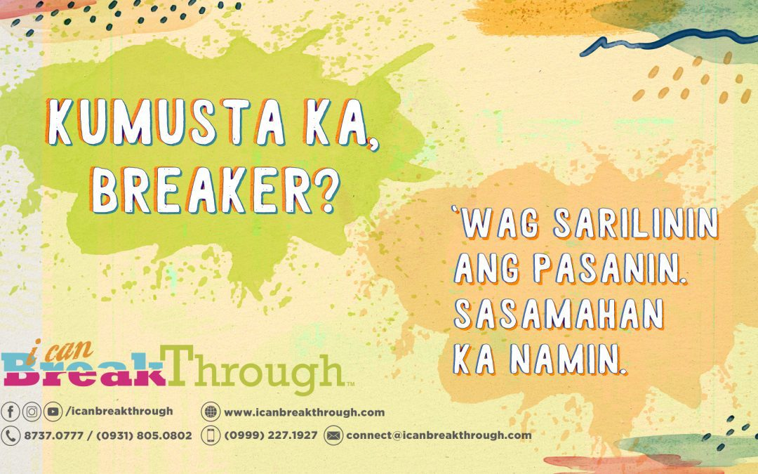 BreakThrough Life with iCanBreakThrough – Maki-Connect na sa Amin! Here's How
