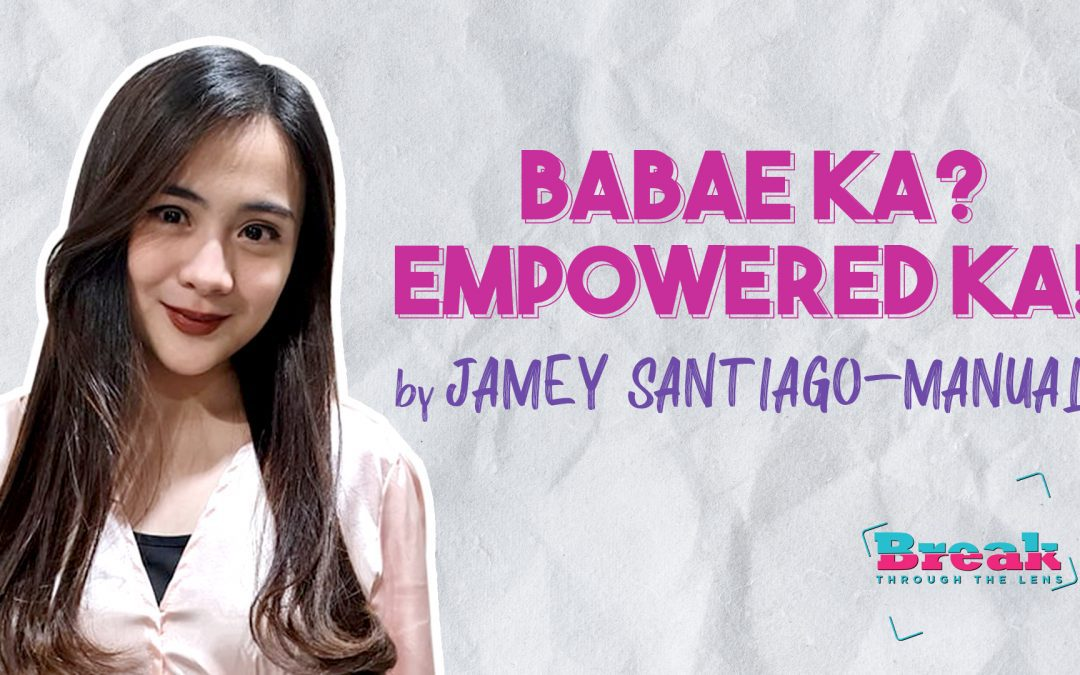 BreakThrough Message of Encouragement for Women During Pandemic Crisis with Jamey Santiago-Manual